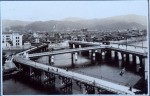 The Aioi bridge - very close to what would be the epicenter of the bomb