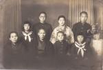 The Hasegawa family, 1938