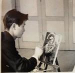 Tadashi painting.
