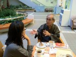 Tadashi in the hospital in 2010